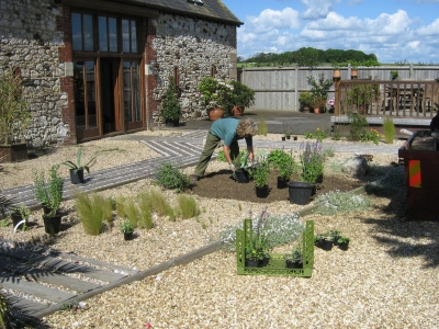 Gravel garden designs exclusive garden design for Gravel garden designs